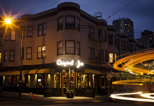 Original Joe S One Of The Best Italian Restaurants In San Francisco Began 1937