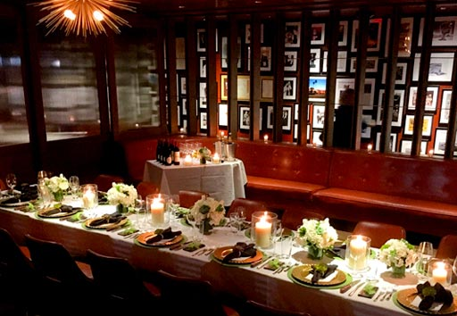 Original Joe's Restaurant Private Dining